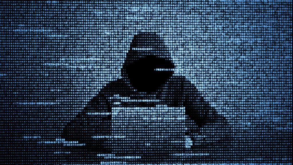 Ein Cyber-Angreifer nutzt Software Schwachstellen und Sicherheitslücken, um Daten zu stehlen und Schadsoftware einzuschleusen.