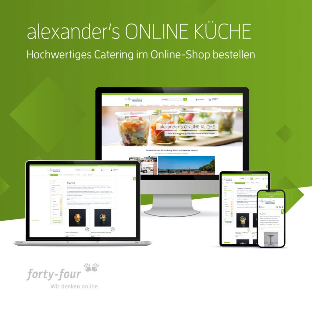 Ein Beispiel für ein gelungenes Agenturprojekt von forty-four, Ihrem Webdesigner aus Koblenz.