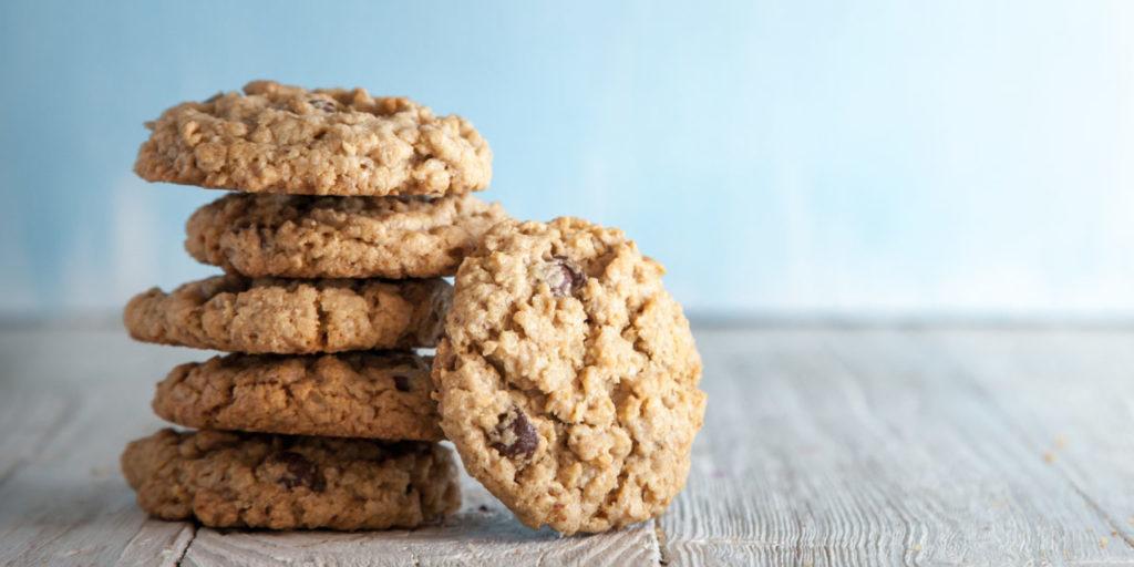 Ein Stapel Kekse als Sinnbild für Google und Third Party Cookies.